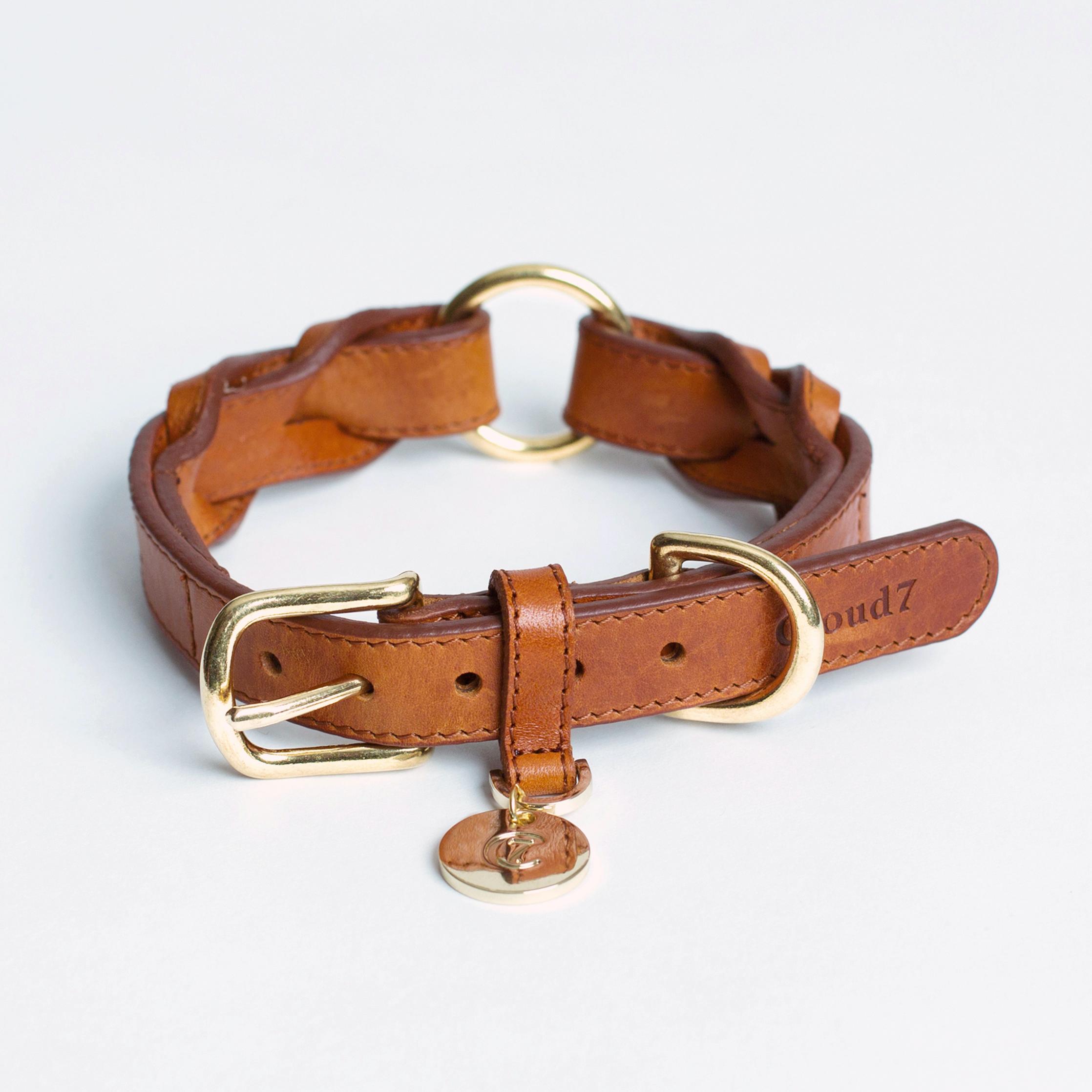 Collar Hyde Park Cognac_M